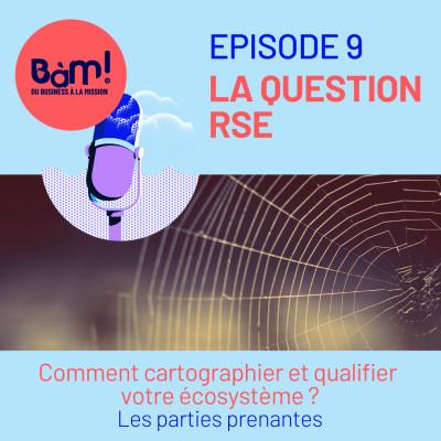 #9 La Question RSE – Comment connaître et qualifier votre écosystème? Les parties prenantes cover