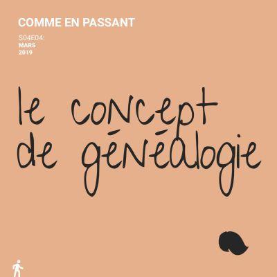 Le concept de généalogie cover