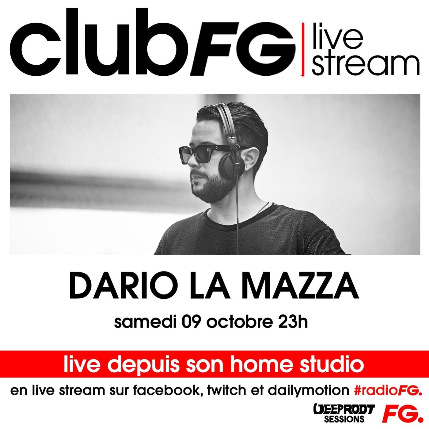 CLUB FG LIVE STREAM : DARIO LA MAZZA