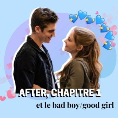 AFTER l Good girl, bad boy cover