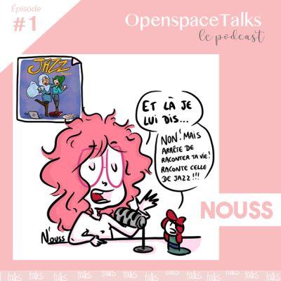 """#1 NOUSS - """"Ce n'est pas parce que j'ai un voile que j'ai moins de compétences"""" cover"""