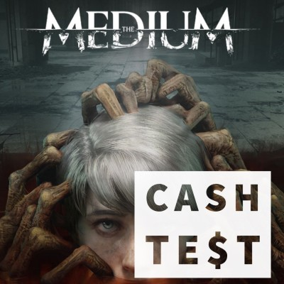 CA$H TEST - THE MEDIUM - Un jeu d'horreur psychologique entre deux âges cover