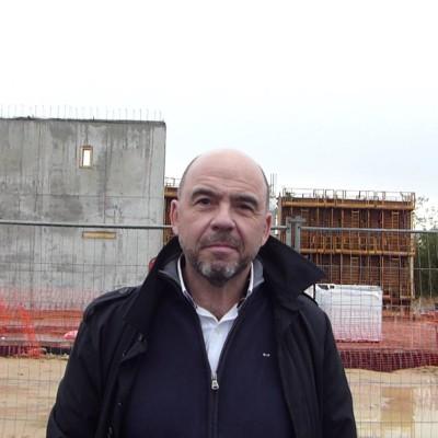 Franck Volko (HPE), pose de la première pierre de Thésée Datacenter cover