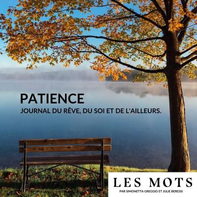 Patience, le podcast d'écriture en confinement cover