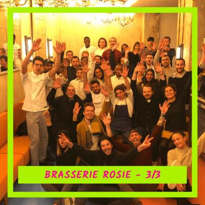 Venez, j'ouvre mon restau ! avec Brasserie Rosie 3/3 : L'ouverture... puis le covid cover