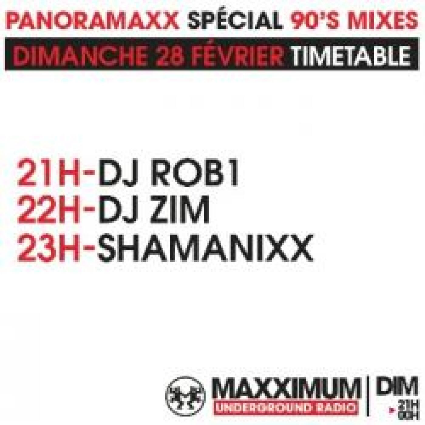 PANORAMAXX 90'S : DJ ZIM