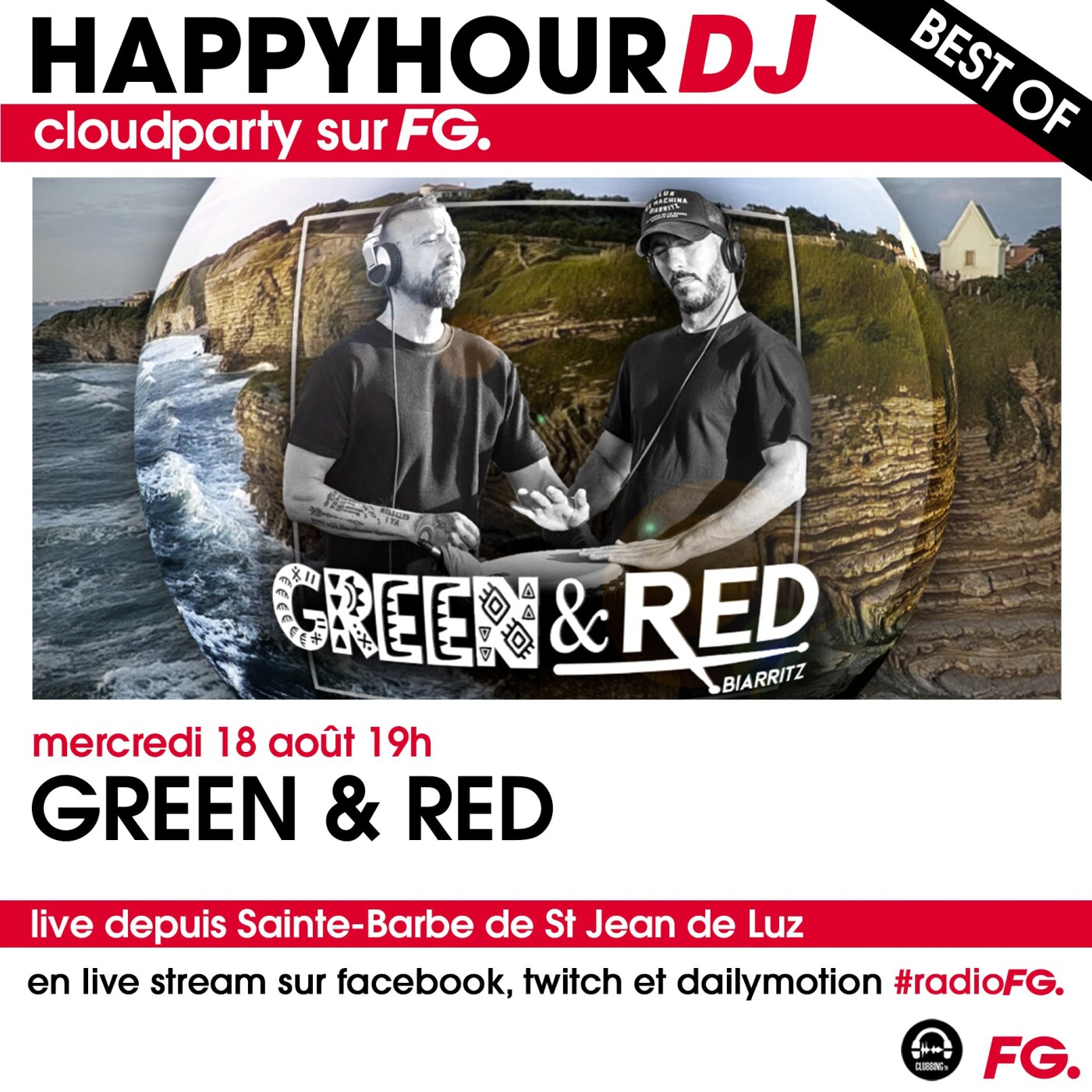 HAPPY HOUR DJ BEST OF : GREEN & RED