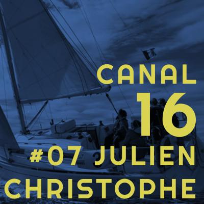 #07 Christophe et Julien - Mains en pare battages & autres blessures en mer 💥 cover