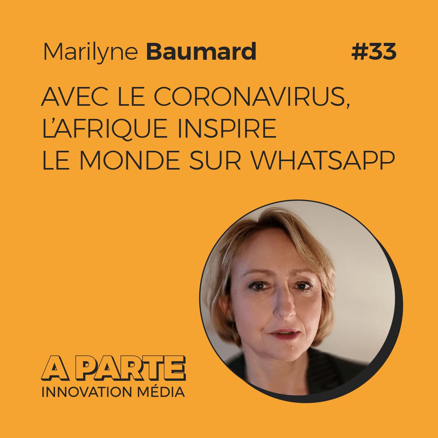 Avec le coronavirus, l'Afrique inspire Le Monde sur WhatsApp, avec Marilyne Baumard