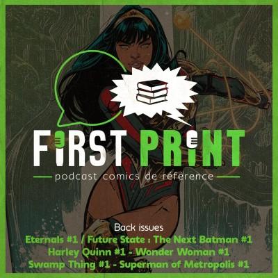 Eternals #1 et les premiers titres DC Future state : les lectures du moment ! [Back Issues VO] cover