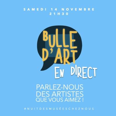 """[n°64] """"Parlez-nous des artistes que vous aimez !"""" (replay du direct) cover"""