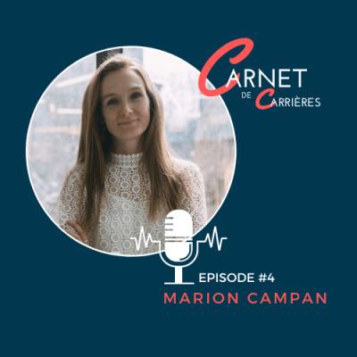 #4 - Marion Campan - Management, mentorat et épanouissement cover