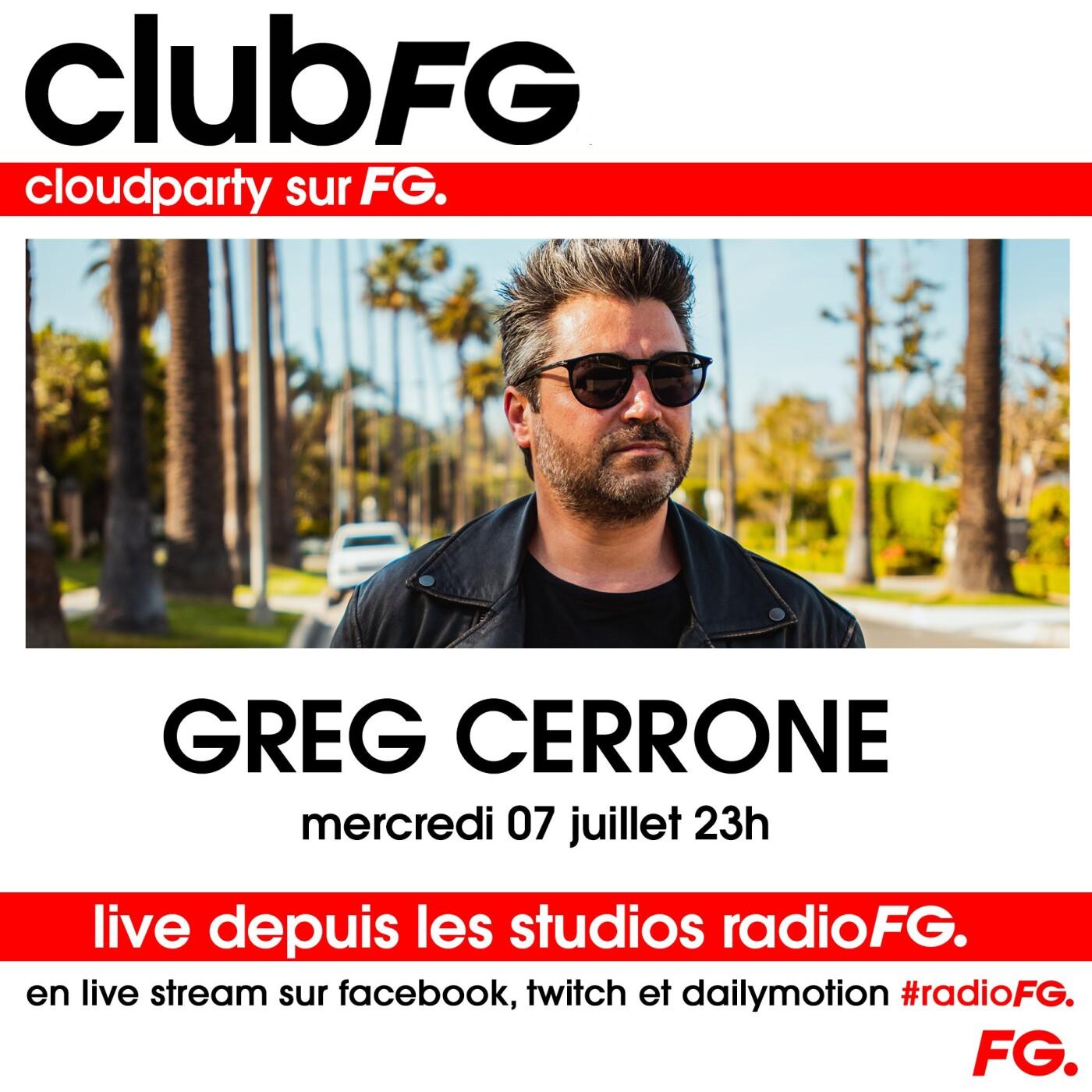 CLOUD PARTY : GREG CERRONE