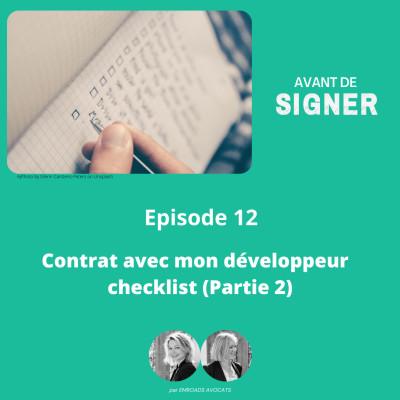 Contrat avec mon développeur : la checklist (partie 2) cover