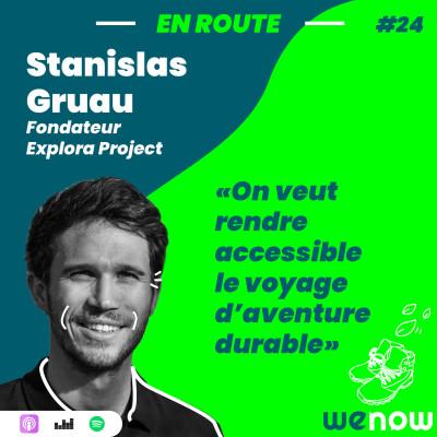 « On veut rendre accessible le voyage d'aventure durable » avec Stanislas Gruau cover