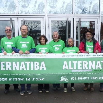 Une autre vie s'invente ici : Paroles pour agir, avec l'association Alternatiba Soultz cover