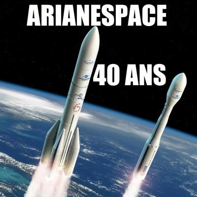 Arianespace - 40 ans de RÊVE SPATIAL ! cover