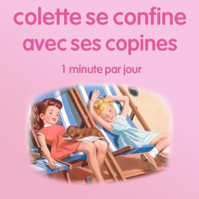 n°49 *Colette se confine avec ses copines* Marguerite. Deus Ex Machina. cover