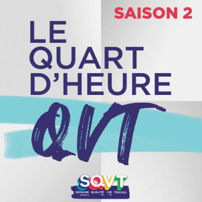Le quart d'heure QVT - Saison 2 cover