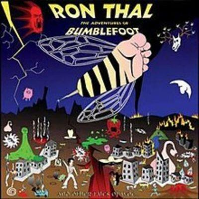 image Découvre Ça - Ron 'Bumblefoot' Thal - The Adventures of Bumblefoot