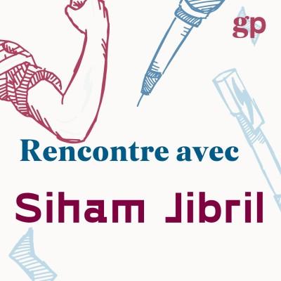 """Siham Jibril de Génération XX et """"à l'écoute"""" cover"""