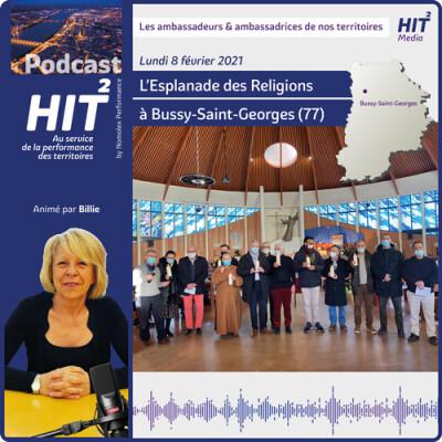 L'Esplanade des Religions à Bussy-Saint-Georges cover
