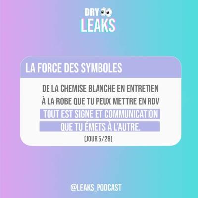Dry Leaks - La force des symboles (5/28) cover