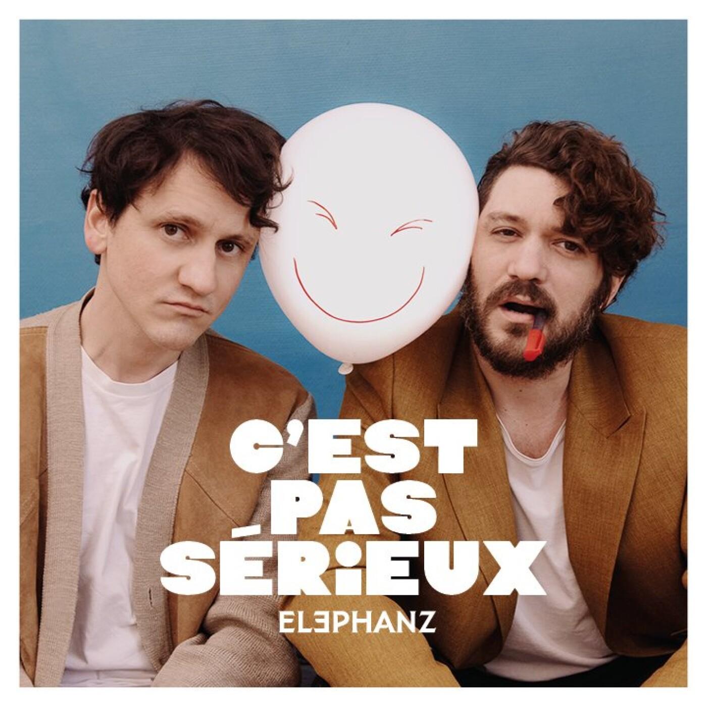 Artiste du jour, Elephanz présente son nouveau titre C'est pas sérieux - 19 03 2021 - StereoChic Radio