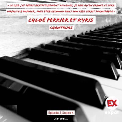 Chloé Perrier and the French Heart jazz Band et Kyris, chanteurs français en Amérique cover
