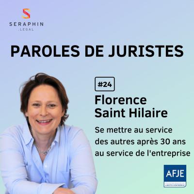 #24 - Florence Saint Hilaire - Se mettre au service des autres après 30 ans au service de l'entreprise cover