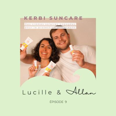 Lucille et Allan de Kerbi : des crèmes solaires engagées pour la protection des océans cover