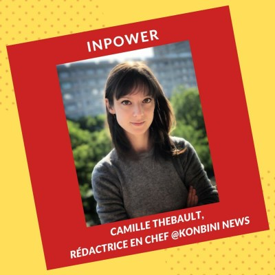 Camille Thebault, Rédactrice en Chef @KonbiniNews cover