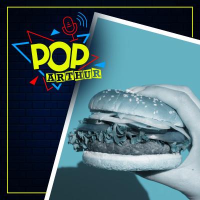 Pop Arthur #7 - Les Fast Food cover