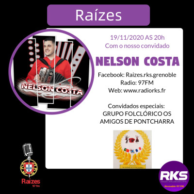 LUSOTIME - Emission du 19/11/2020 avec Nelson Costa e Isabelle Ribeiro (Os Amigos de Pontcharra) cover
