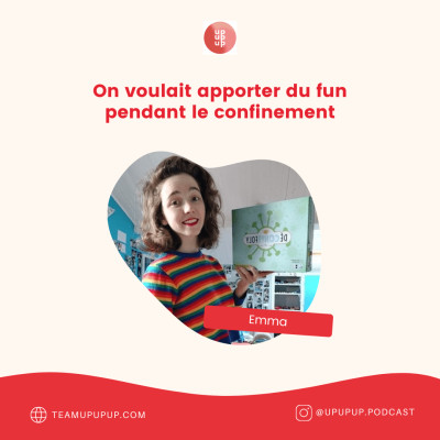 Emma - On voulait apporter du fun durant le confinement cover