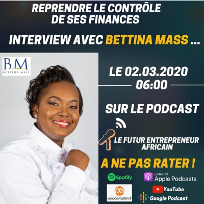#008 - Reprendre le contrôle de ses finances Bettina Mass [Interview] cover