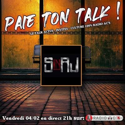 "Radio AC'S ""Paie ton talk"" Invité SINRJ cover"
