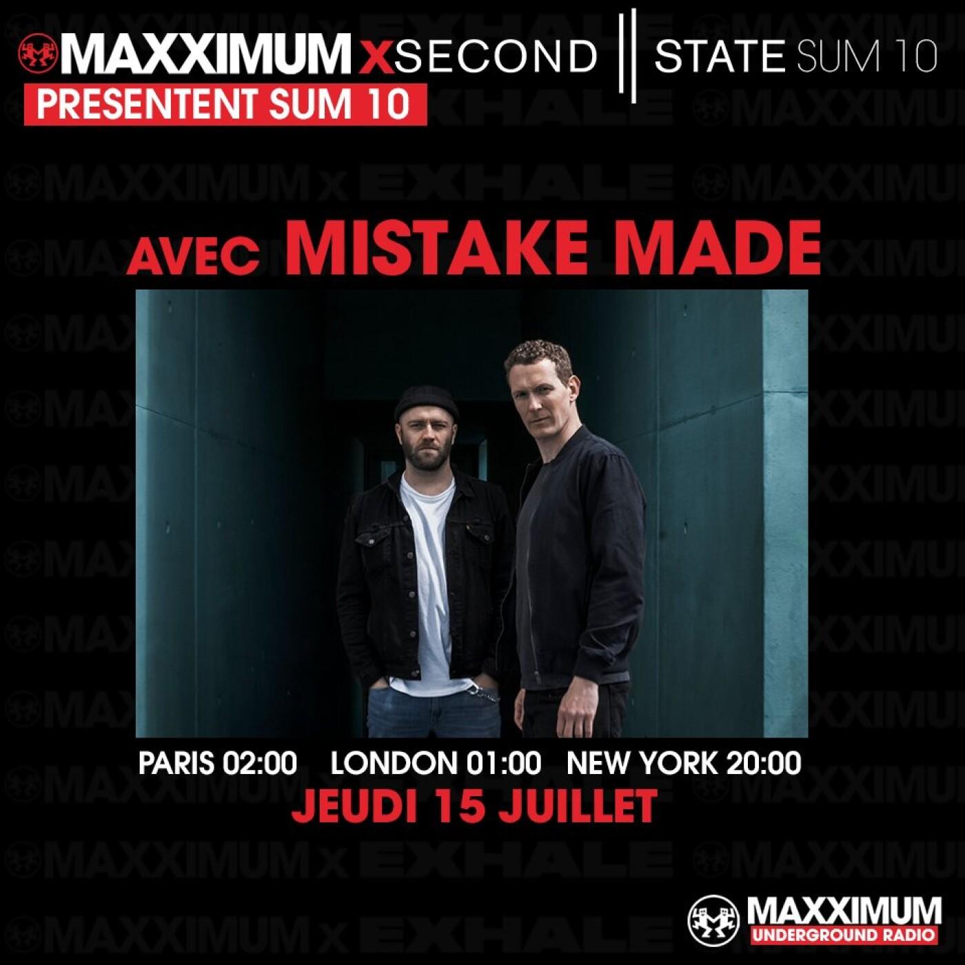MAXXIMUM INVITE SECOND STATE : MISTAKE MADE