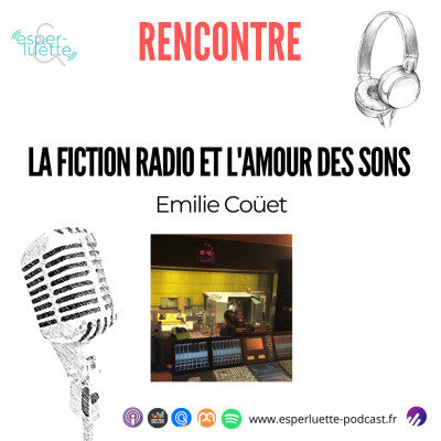 Emilie Couët - La fiction radio et l'amour des sons cover