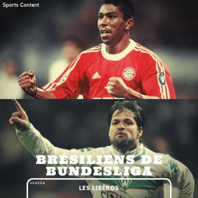 Les Brésiliens de la Bundesliga cover
