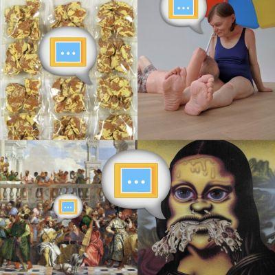 """image [n°30] """"Et toi, c'est quoi ton rapport à l'art ?"""" (avec Fanny, Béa et Gaewen)"""