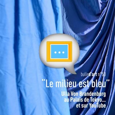 """[n°53] """"Le milieu est bleu"""", film musical d'Ulla Von Brandenburg au Palais de Tokyo (et sur YouTube) cover"""