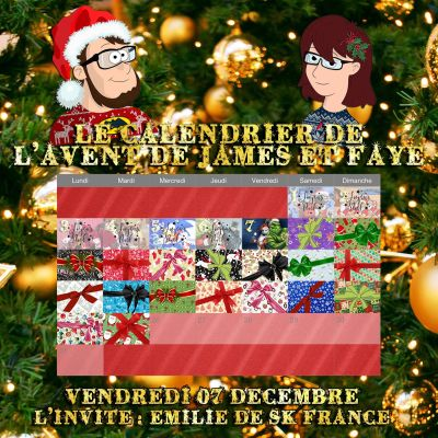 Calendrier de l'avent 07 décembre : Emilie de SK France cover