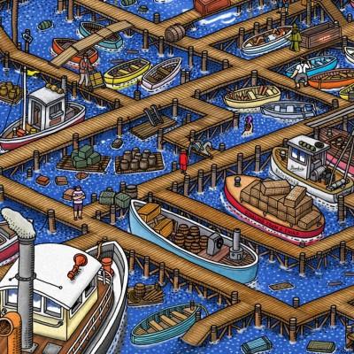 LTTG | Labyrinth City: Pierre the Maze Detective #08 - Sur les docks cover