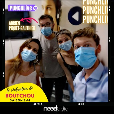 """Punch Live avec Adrien Piquet-Gauthier (le réalisate du Film """"Boutchou"""") (21/09/20) cover"""