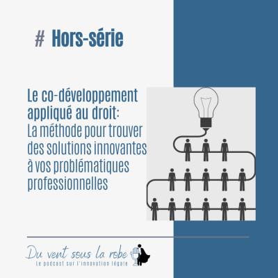 Hors-série- Le co-développement appliqué au droit : la méthode pour trouver des solutions innovantes à vos problématiques professionnelles cover