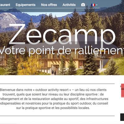 image Zecamp entre tourisme et sport entretien avec Mr Duvillard