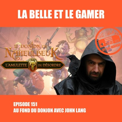 Episode 151: Au fond du donjon avec John Lang cover