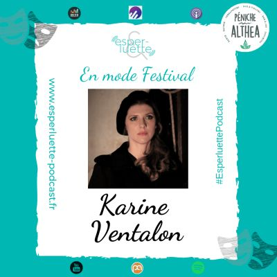 """Karine Ventalon - Le Quai des brumes - Esperluette """"En mode Festival"""" cover"""