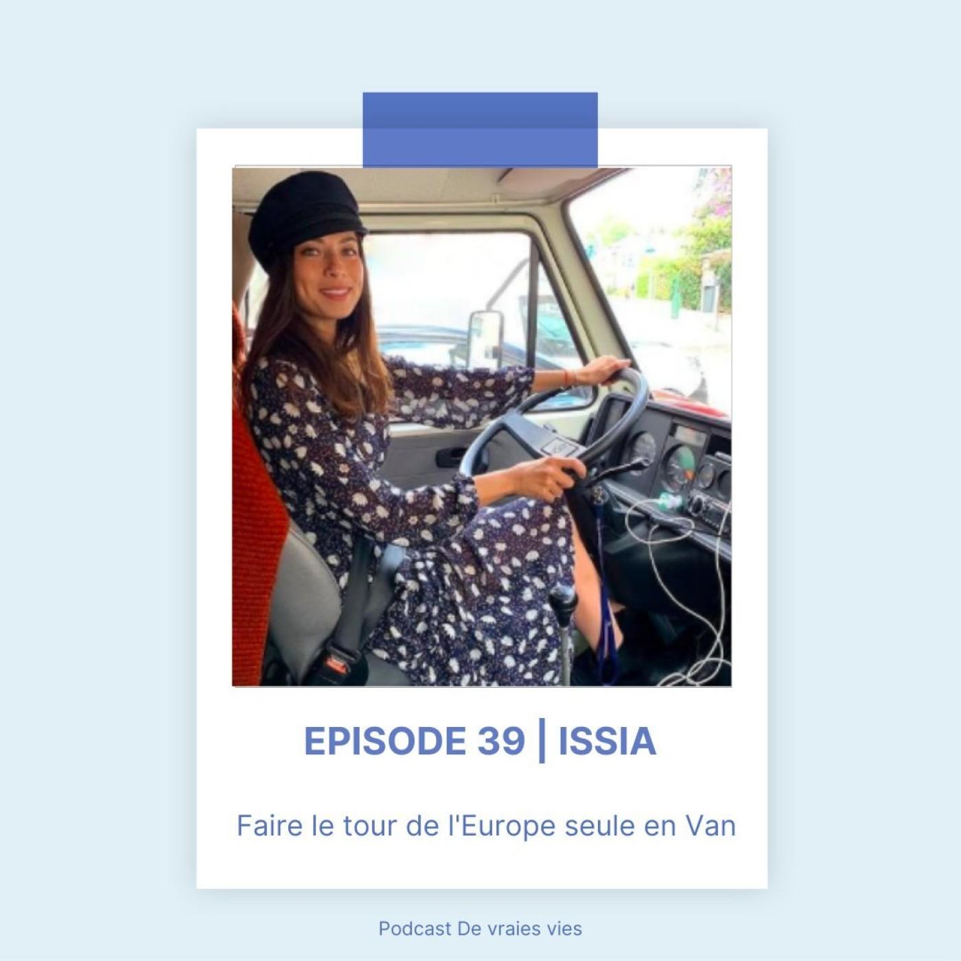 Issia   Faire le tour de l'Europe seule en Van